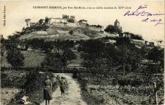 Clermont-Dessous - Vue - par Port-Sainte-Marie - Clermont-Dessous