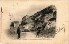 Puymirol - Arrivée d'Agen - Vestiges de vieux Remparts - Puymirol