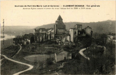 Clermont-Dessous - Vue générale - Env. de Port-Sainte-Marie - Clermont-Dessous