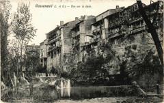 Casseneuil - Vue sur la Lede - Casseneuil
