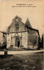 Casseneuil - Eglise - Casseneuil