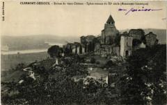 Clermont-Dessous - Ruines du vieux Chateau - Eglise romane - Clermont-Dessous