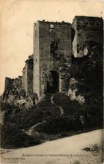 Clermont-Dessous - Ruines du Chateau de Clermont-Dessous - Clermont-Dessous