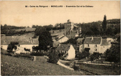 Coins du Perigod MONCLARd Ensemble Est et le Chateu - Monclar