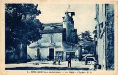 Fregimont - La Place et l'Eglise - Frégimont