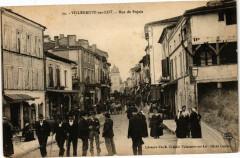 Villeneuve-sur-Lot-Rue de Pujols - Pujols