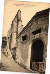 Tombeboeuf-Entrées de la Halle et de l'Eglise - Tombeboeuf