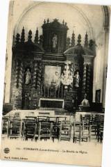 Fongrave - Le Retable de l'Eglise - Fongrave