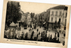 Villeneuve-sur-Lot-Cours Victor-Hugo - Cours