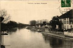 Léon - Tartas - Les Quais - Promenade - Landes - Léon