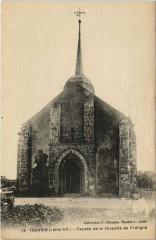 Touvois Facade de la Chapelle de Freligne - Touvois