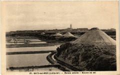 Batz-sur-Mer (Loire-inf.) - Marais salants - Mulons de sel - Batz-sur-Mer
