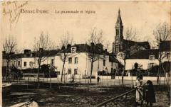 Basse-Indre - La promenade et l'eglise - Indre