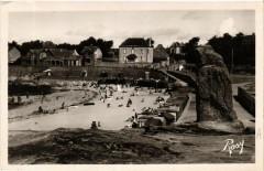 Batz-sur-Mer - La Plage et le Menhir de Pierre-Longue - Batz-sur-Mer