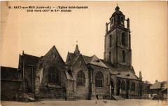 Batz-sur-Mer (Loire-inf.) - L'Eglise Saint-Guenole-Cote Nord ... - Batz-sur-Mer
