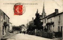 La Haie-Fouassiere - Arrivee par la route de Vertou - La Haie-Fouassière