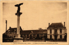Saint-Sebastien-sur-Loire - Le Square de la Mairie et le Monument - Saint-Sébastien-sur-Loire