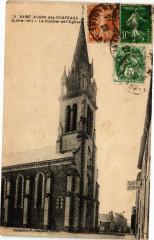 Saint-Aubin-des-Chateaux - Le Clocher de l'Eglise - Saint-Aubin-des-Châteaux