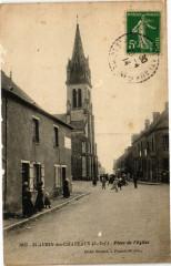 Saint-Aubin-des-Chateaux - Place de l'Eglise - Saint-Aubin-des-Châteaux