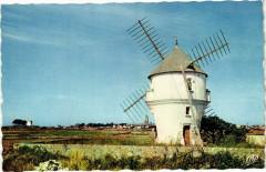 Batz-sur-Mer - Moulin a vent - Batz-sur-Mer