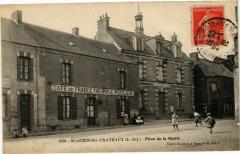 Saint-Aubin-des-Chateaux - Place de la Mairie - Saint-Aubin-des-Châteaux