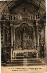 Batz-sur-Mer - Interieur de l'Eglise - Le Maitre Autet - Batz-sur-Mer