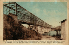 Les Ponts-de-Ce - Le Pont du Chemin de fer - Les Ponts-de-Cé
