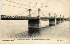 Ingrandes Le Pont suspendu sur la Loire - Loiré