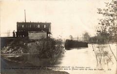Catastrophe Montreuil-Bellay le premier des trois wagons - Montreuil-Bellay