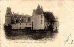 Ecuille Chateau du Plessis-Bourre coté Est - Écuillé