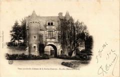 Ecuille Vieux proche du Chateau de la Roche-Chauvon - Écuillé