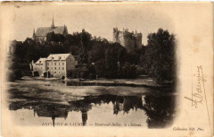 Montreuil-Bellay Le chateau - Montreuil-Bellay