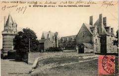 Durtal Vue du Chateau coté ouest - Durtal