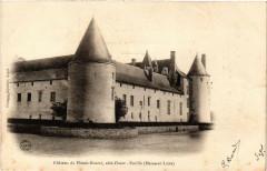 Ecuille Chateau du Plessis-Bourre coté Ouest - Écuillé