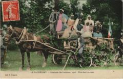 Le Vaudelnay - Cavalcade des Laveuses 1908 - Vaudelnay