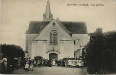 Montreuil-sur-Maine - Place de l'Eglise - Montreuil-sur-Maine