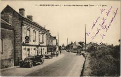 Villebernier Arrivée de Saumur Vers Tours - Villebernier