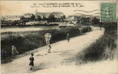 Saint-Georges-sur-Loire - Panorame de la Route de Chalonnes - Saint-Georges-sur-Loire