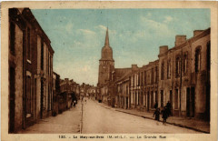 Le May-sur-Evre - La Grande Rue - Le May-sur-Èvre