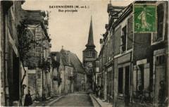 Savennieres - Rue principale - Savennières