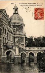 Saint-Georges-sur-Loire - Les douves du Chateau de Serrant - Saint-Georges-sur-Loire