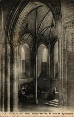 Cizay-la-Madeleine - Abbaye d'Asnieres Le Choeur de l'Eglise - Cizay-la-Madeleine