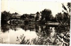 Env. de Denée-Moze-sur-Louet - Port Bitou au bord du Louet - Denée