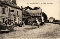 Montreuil-sur-Maine - Rue du Quai - Montreuil-sur-Maine