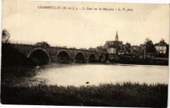 ChamBELLAY-Le Pont sur la MAYenne - Chambellay