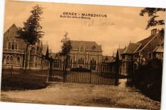 Denee - Maredsous - Ecole des Arts et Metiers - Denée