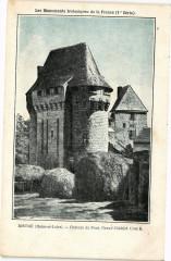 Distre (Maine-et-Loire) - Chateau de Poce Grand Chatelet Cote S. - Distré