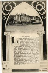 Montsoreau - Le Chateau primitif de Montsoreau situe aupres de - Montsoreau