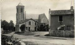 Villedieu Vue sur la Blouere - Blou