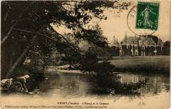 Nesmy - L'Etang et le Chateau - Nesmy
